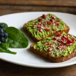 Avocado Superfood toast // Choosing Raw