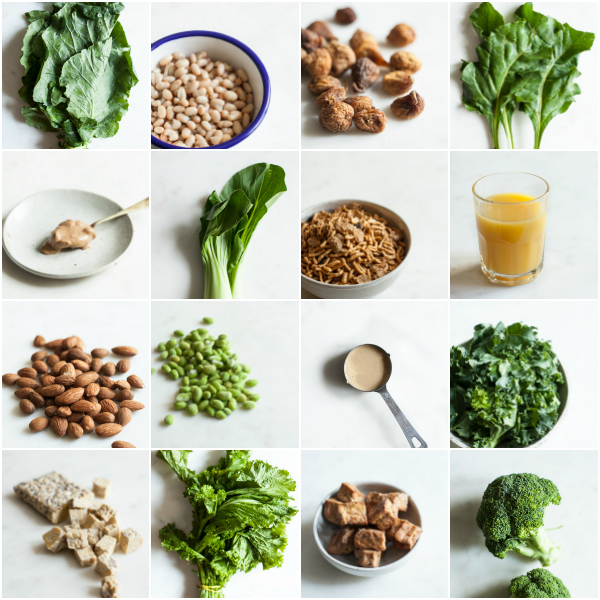 15 Calcium Rich Vegan Food Combinations | The Full Helping