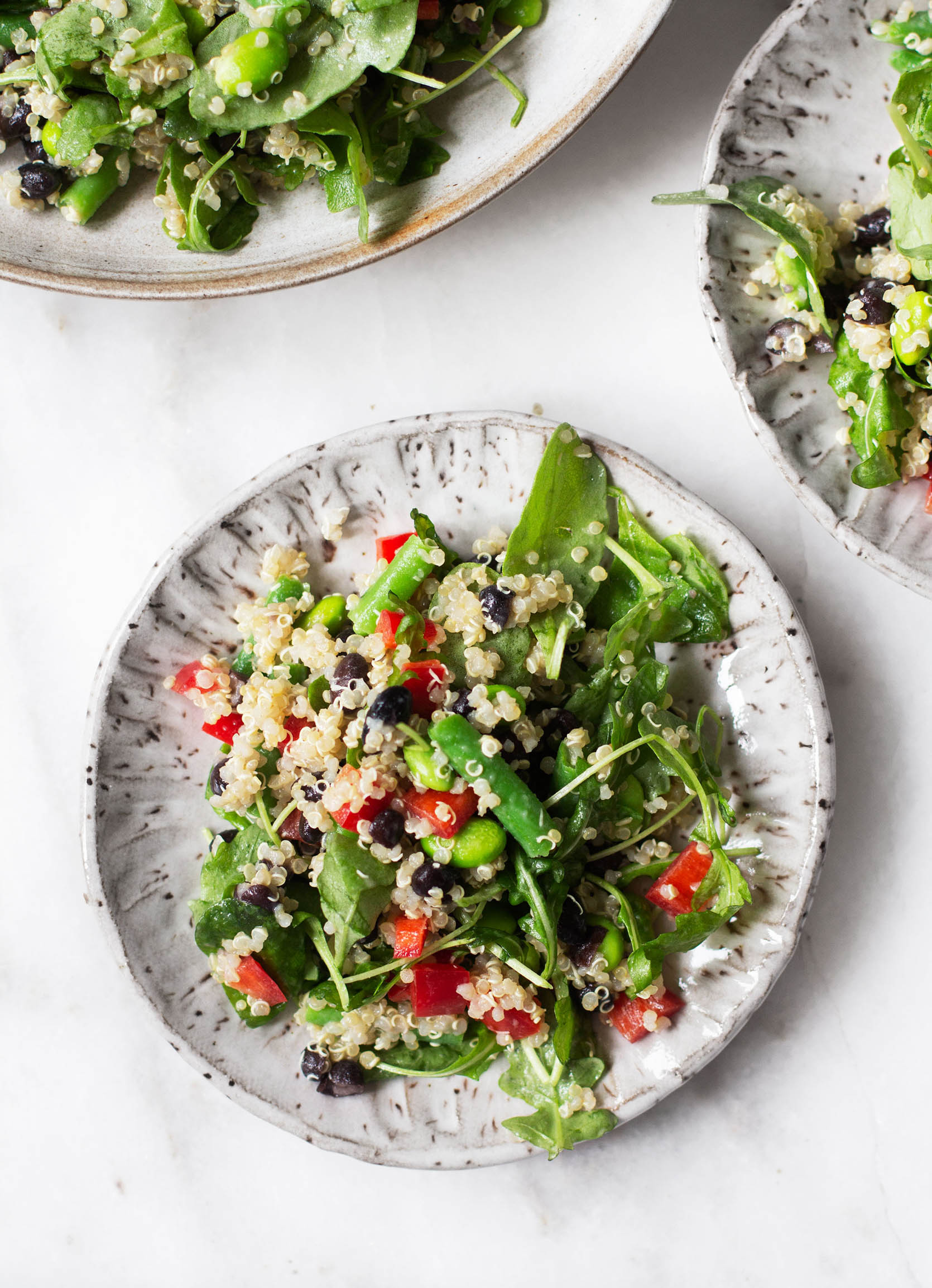 Protein-Packed Bean & Quinoa Salad | The Full Helping