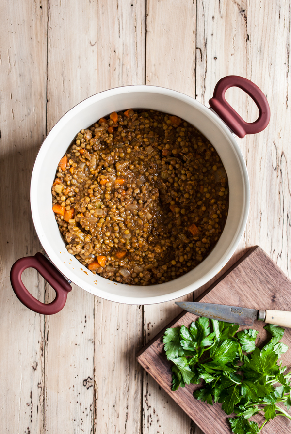 Simple French Lentil Soup | The Full Helping