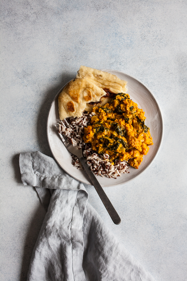 Creamy Tomato Coconut Red Lentils | The Full Helping