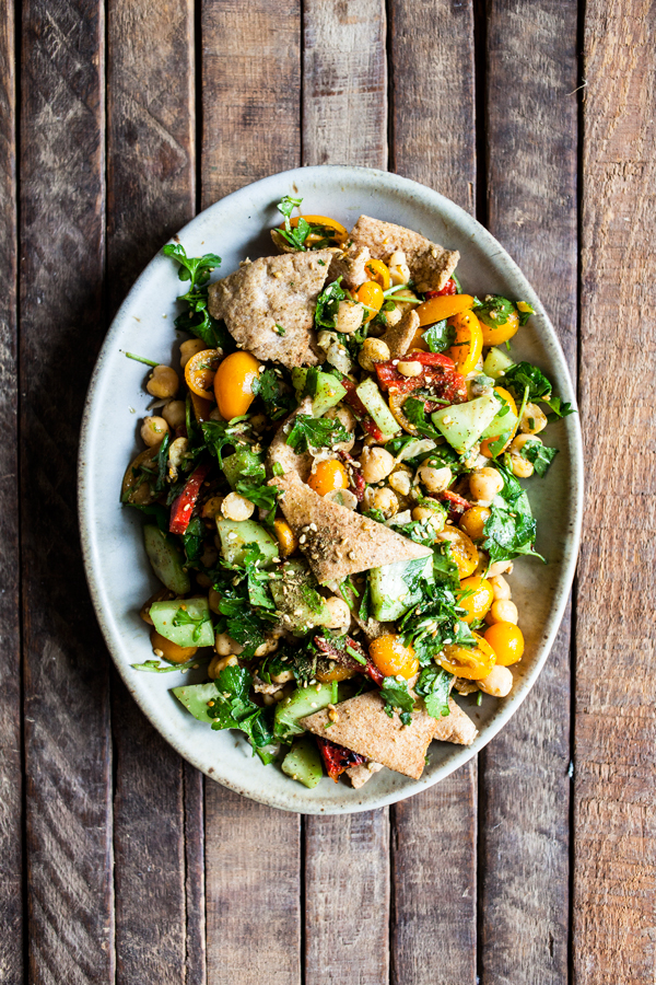 Falafel Fattoush from Real Food, Really Fast