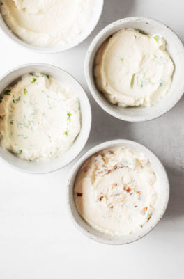5-Ingredient Tofu Cream Cheese, 4 Ways