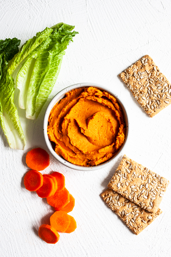 Brandi Doming's Thai Red Curry Sweet Potato Dip | The Full Helping