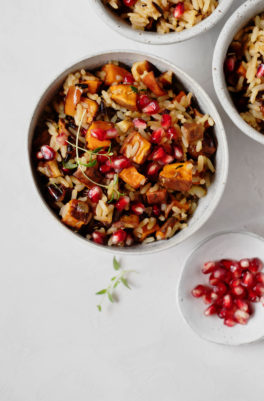 Sweet Potato Wild Rice Stuffing