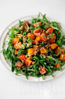 Lentil Tahini Sweet Potato Salad