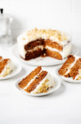 My Favorite Vegan Carrot Cake