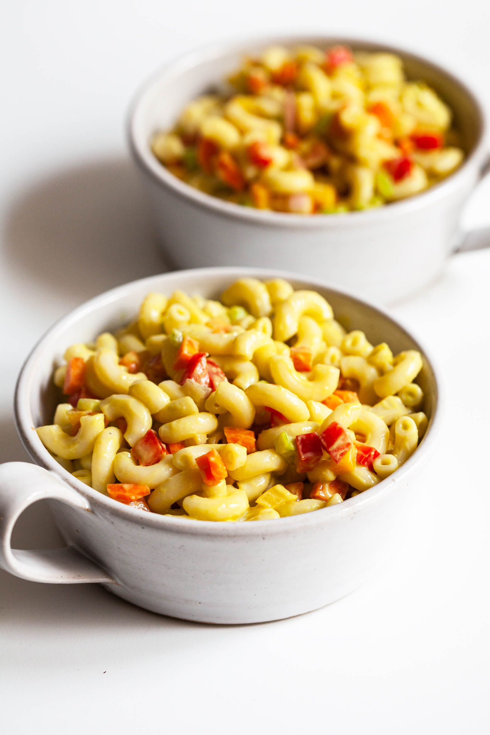 Creamy Avocado Macaroni Salad | The Full Helping